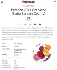 Parendon Grenache 2011