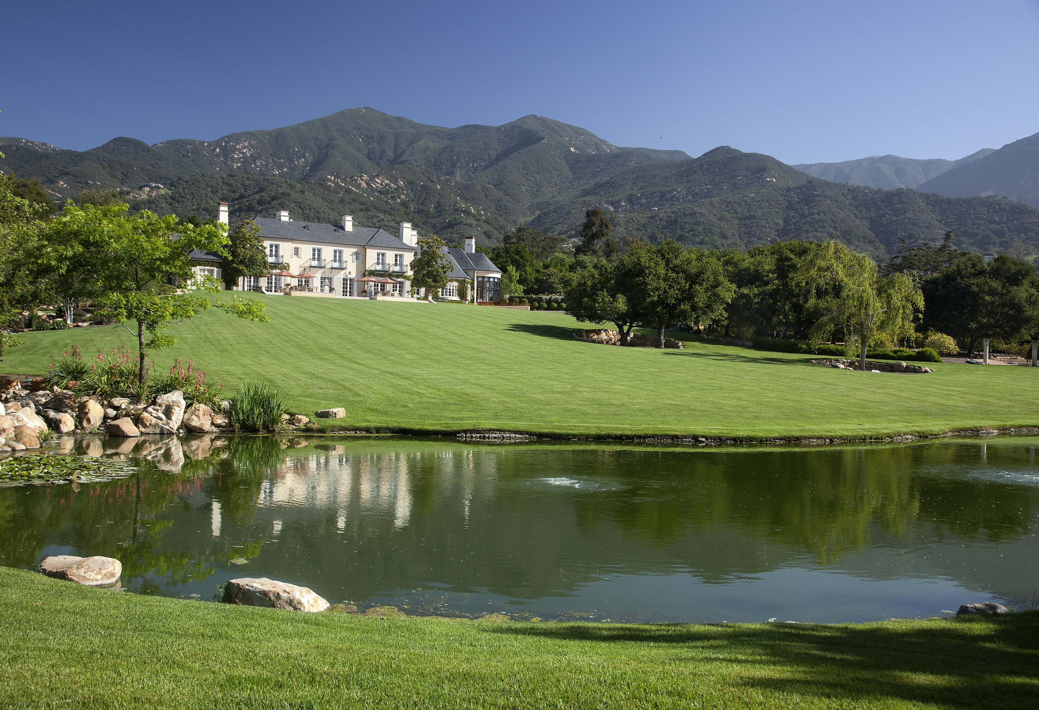 Grand Estate In Montecito Suzanne Perkins