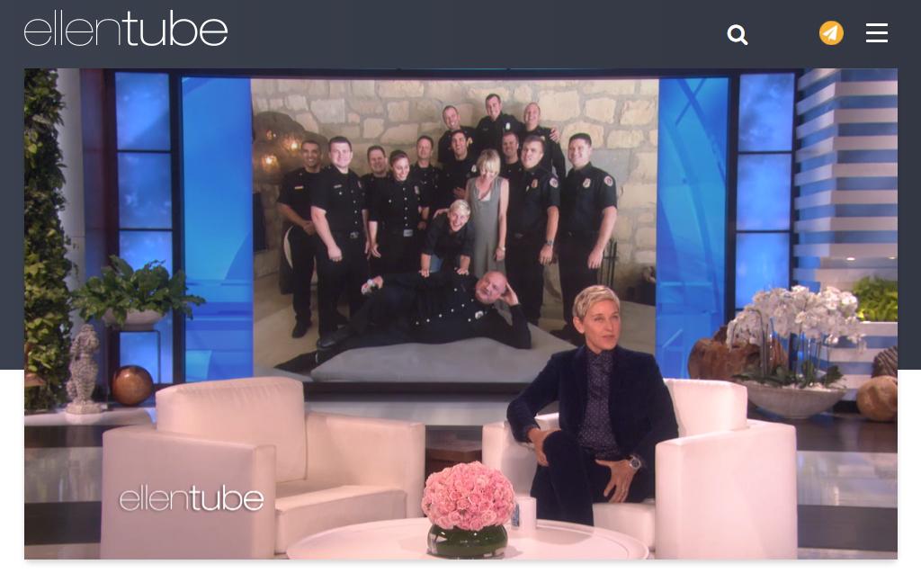 Screenshot is taken from EllenTube.com
