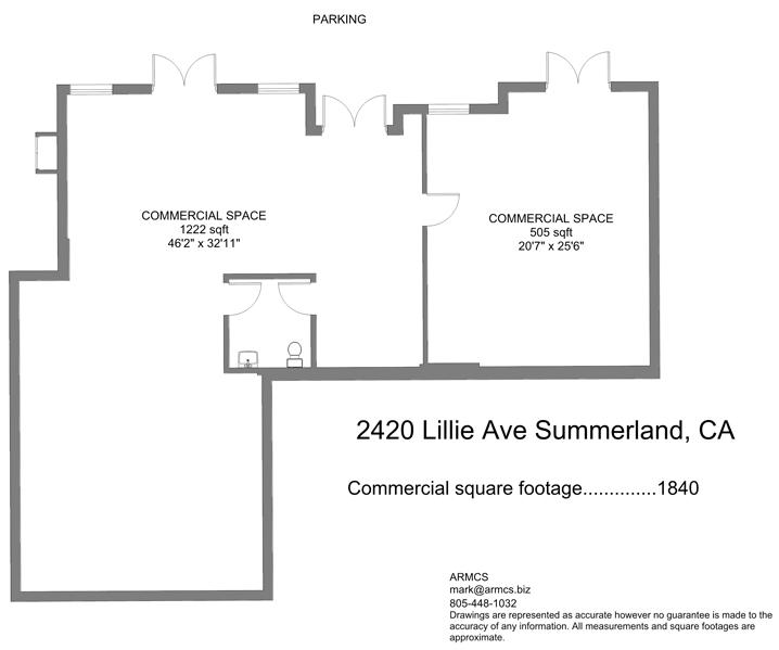 Summerland Cottage Floorplan