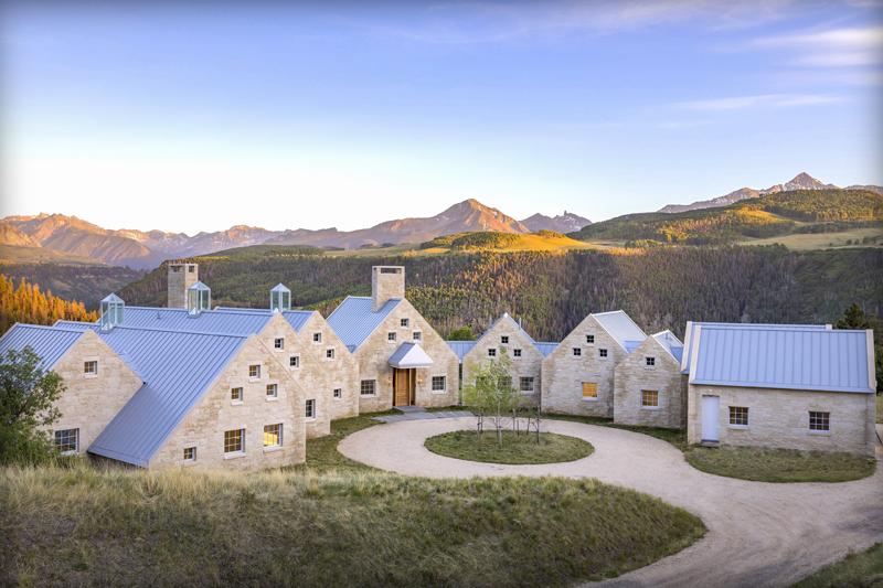 Hugh Newell Jacobsen Design in Telluride